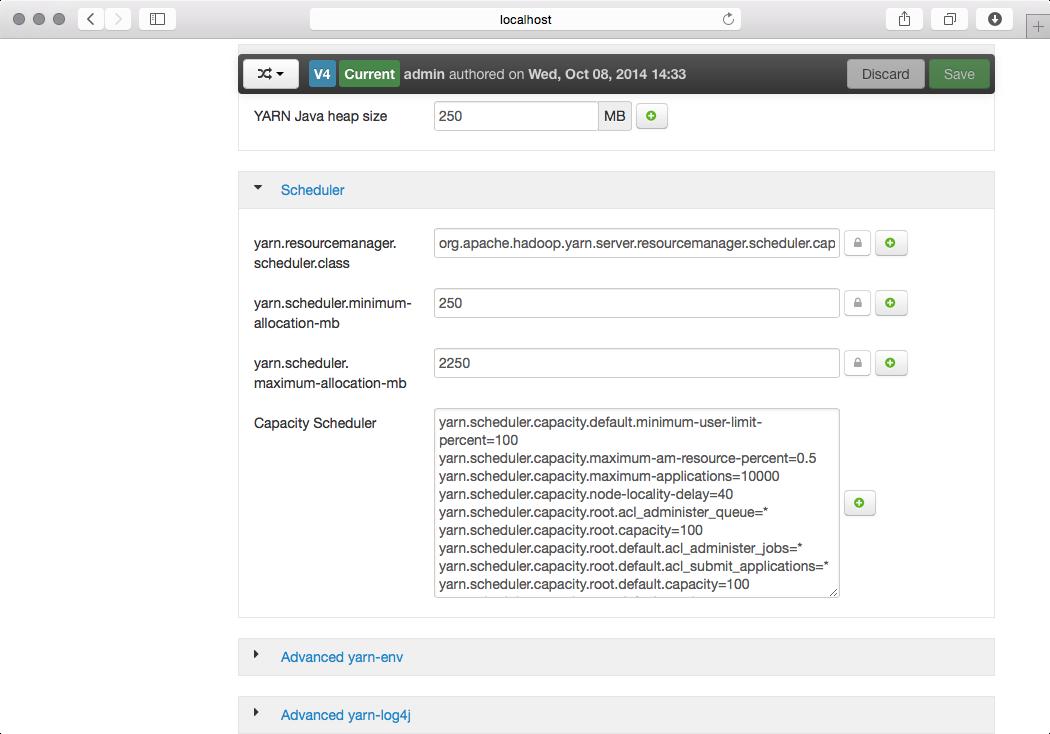 Configuring YARN Capacity Scheduler with Ambari - Cloudera