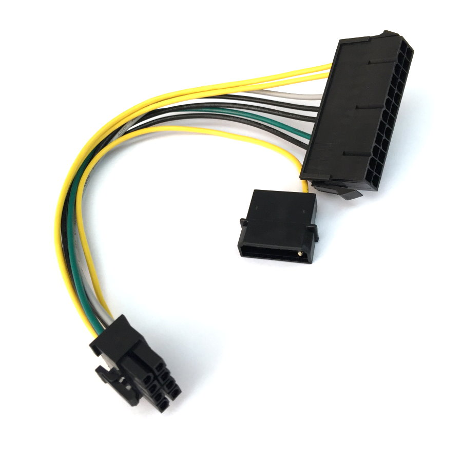 [TBQL_4184]  Solved: Upgrading GPU and PSU for Optiplex 9020, baffled by 8 pin connector.  !!! - Dell Community   Dell 24 Pin Power Supply Wiring Diagram      Dell