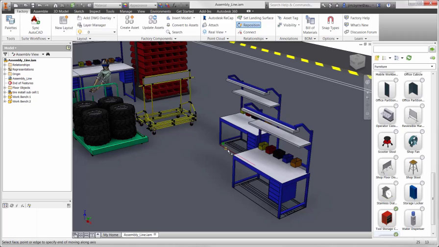 Solved changing assets name autodesk community for Warehouse design software