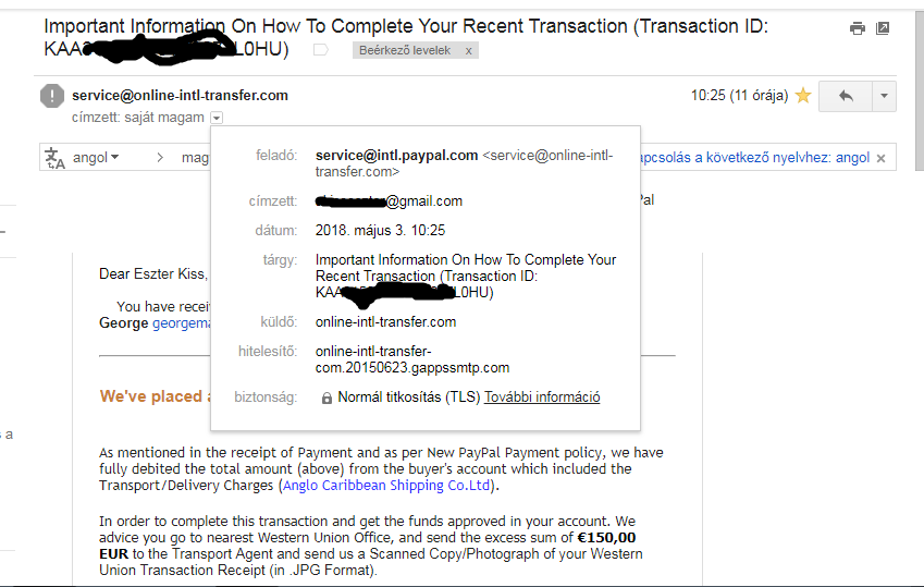 Fake email or I am overreacting? - PayPal Community