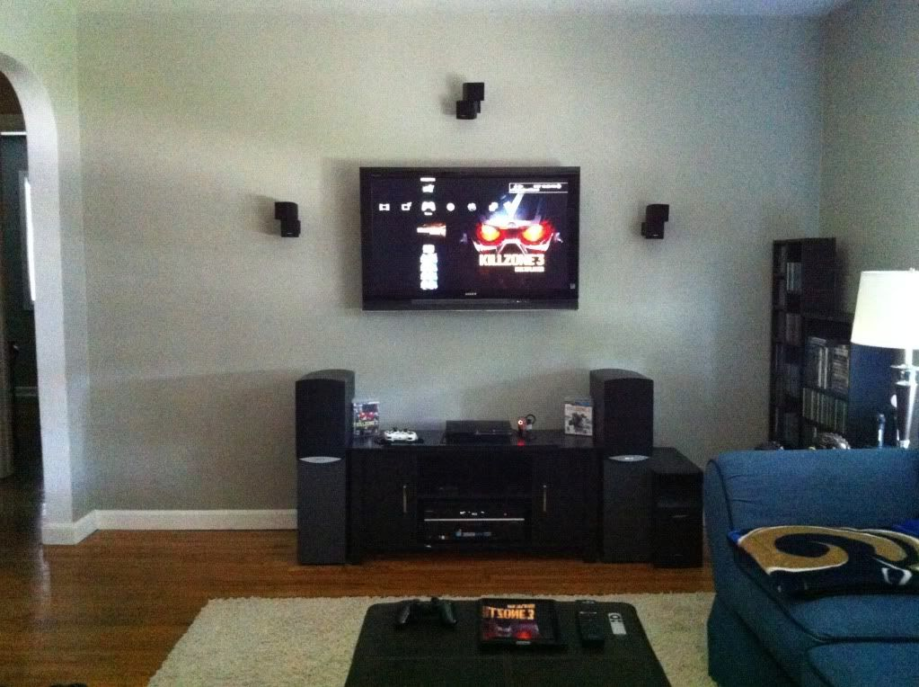 Heres A Pic Of My Living Room Setup