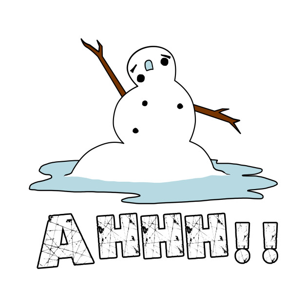 Image result for melting snowman