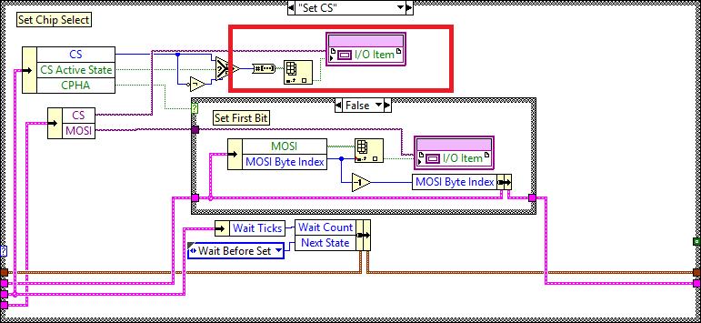myRIO SPI configure FPGA CS 2