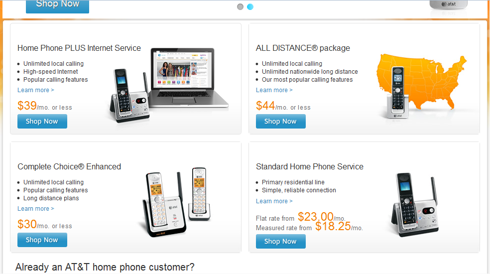 Landline Phone Service Providers By Zip Code >> Standard Home Phone Service - AT&T Community