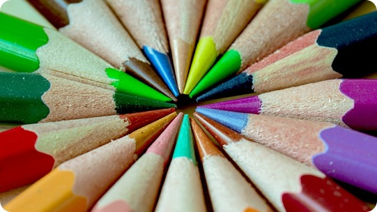 Colored Pencils --- Everyone of them is sharp