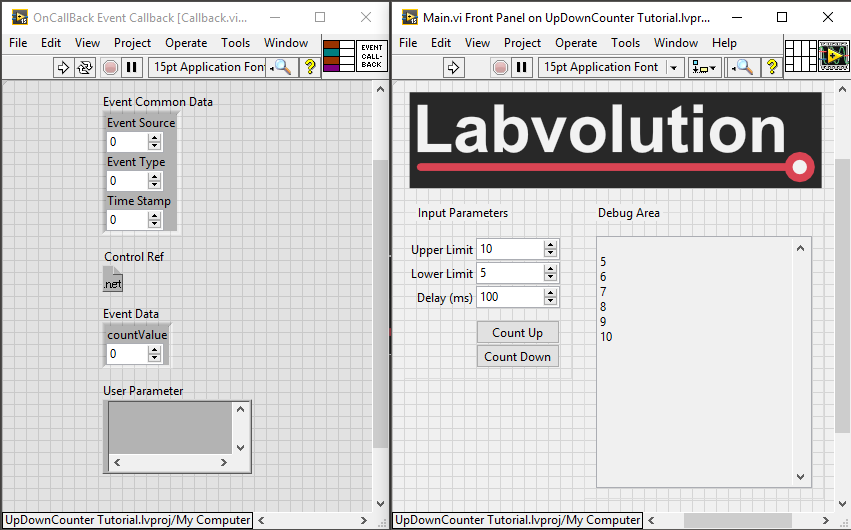 C# LabVIEW Callback Event Cleared Reserve