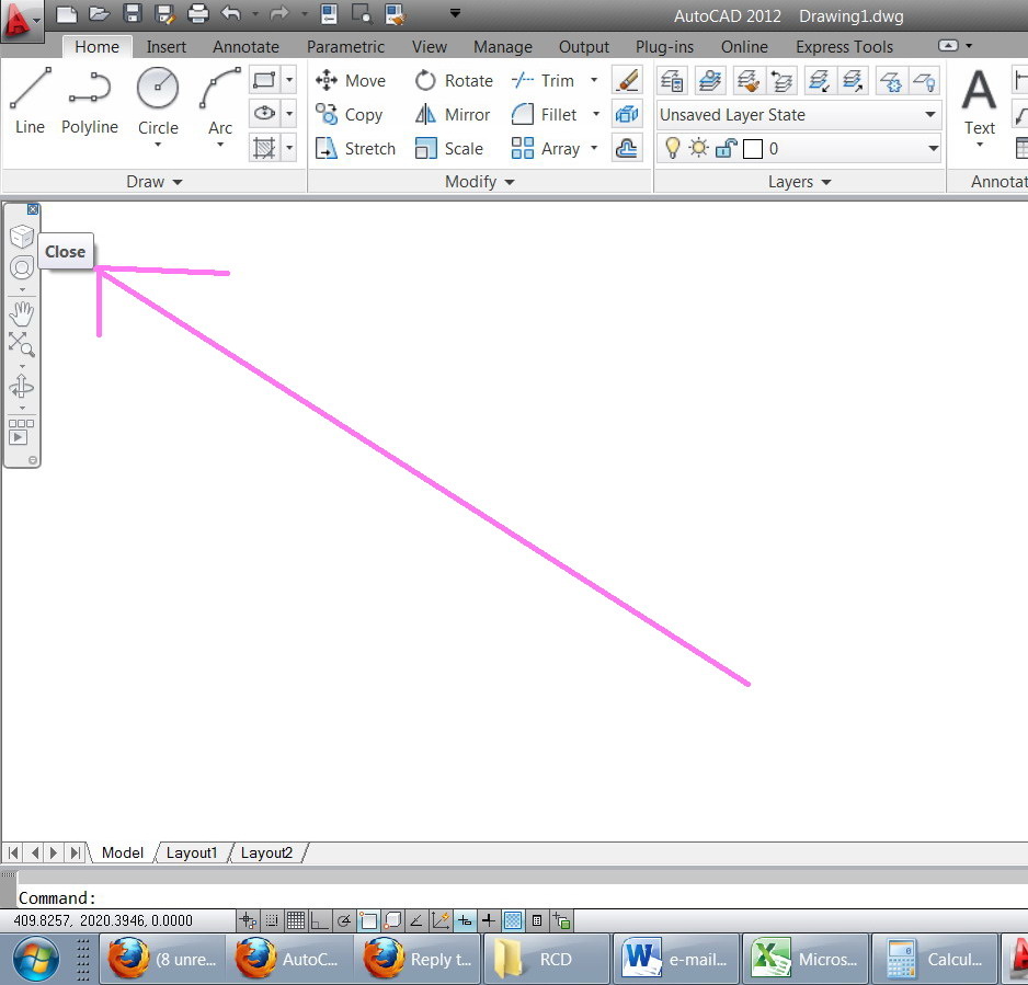 how to hide pdf underlay autocad