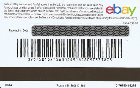 Paying With Ebay Gift Card The Ebay Community