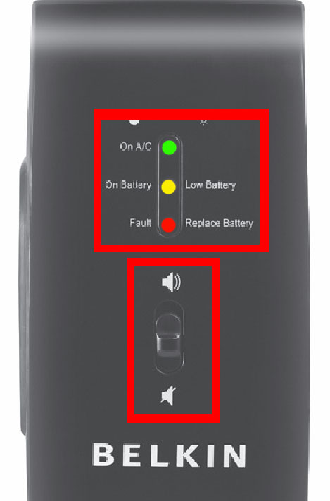 Solved: How do you stop the beeping for Belkin Battery bac