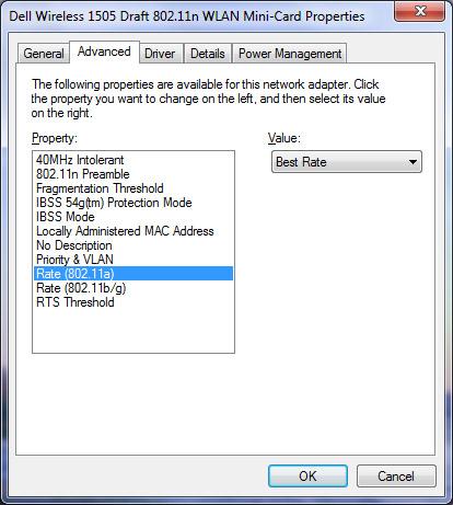 New Dell Wireless 1505 Draft n 802.11n WLAN Mini Card