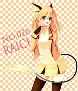 Raichu Girl