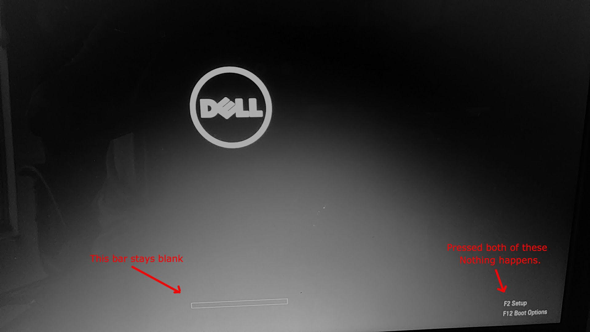 Dell Laptop Stuck On Logo Dell Community