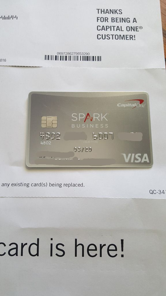 Unique Capital One Spark Card For Business Pattern - Business Card ...